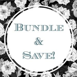 Bundle 2 or more items 10% off!